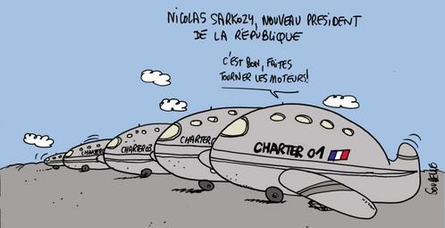 Charters prêts à décoller