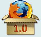 Firefox 1.0 sort du carton