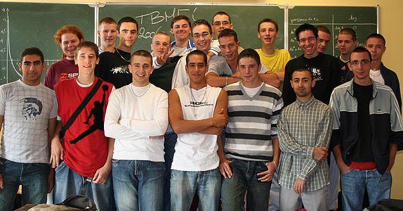 Photo de classe BMEI 2007